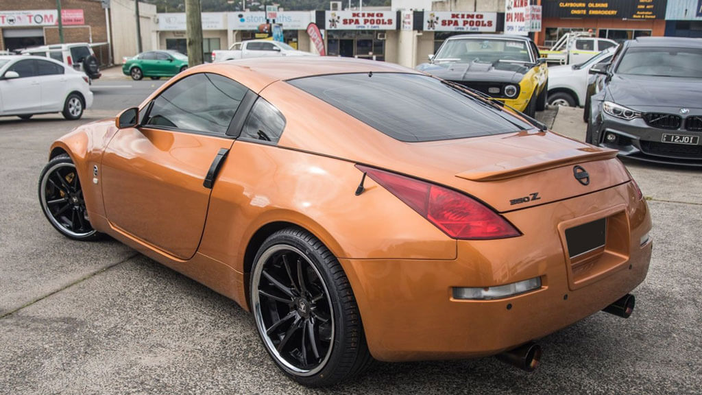 "20"" Asanti Wheels ABL-23 Sigma Gloss Black with Chrome Lip Rims"