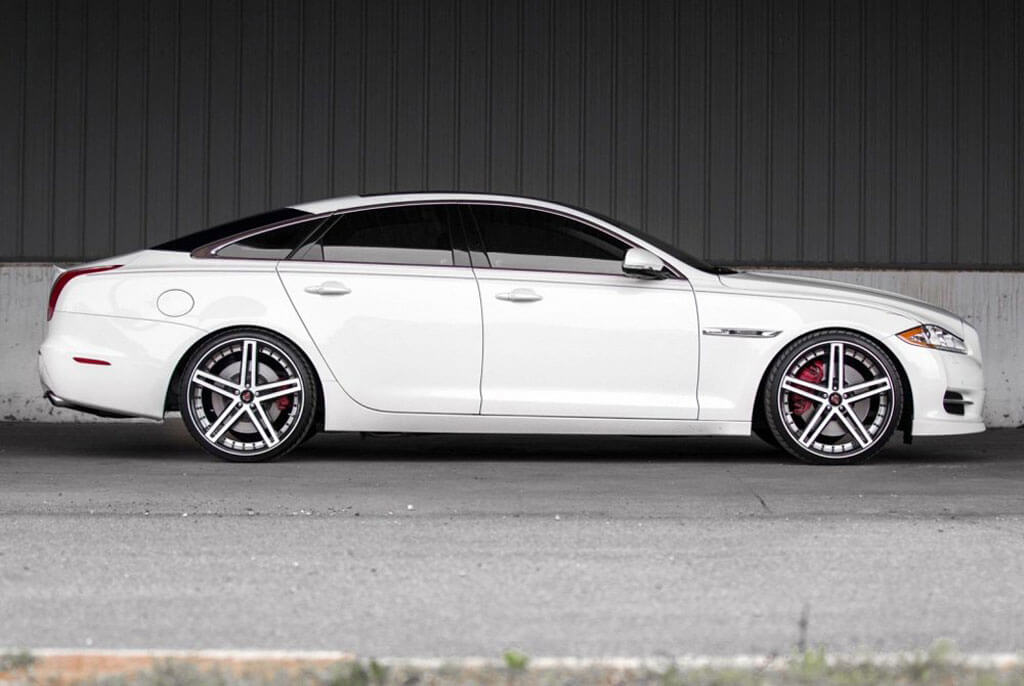 """Mercedes Benz Rims >> 20"""" Staggered AXE Wheels EX20 Gloss Black with White Face Rims #AXE020-2"""
