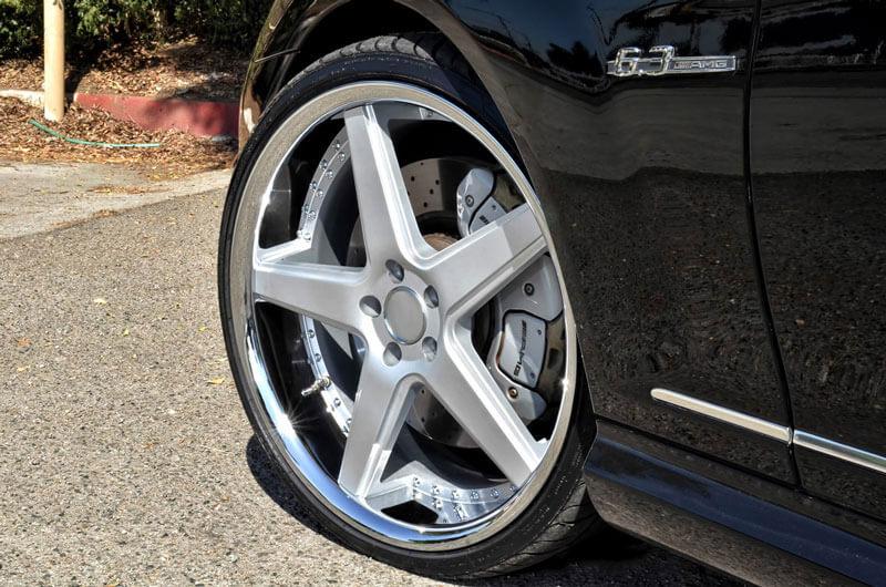 Azad Wheels Az Silver Chrome Lip Rims Audiocityusa Mercedes Cl Amg