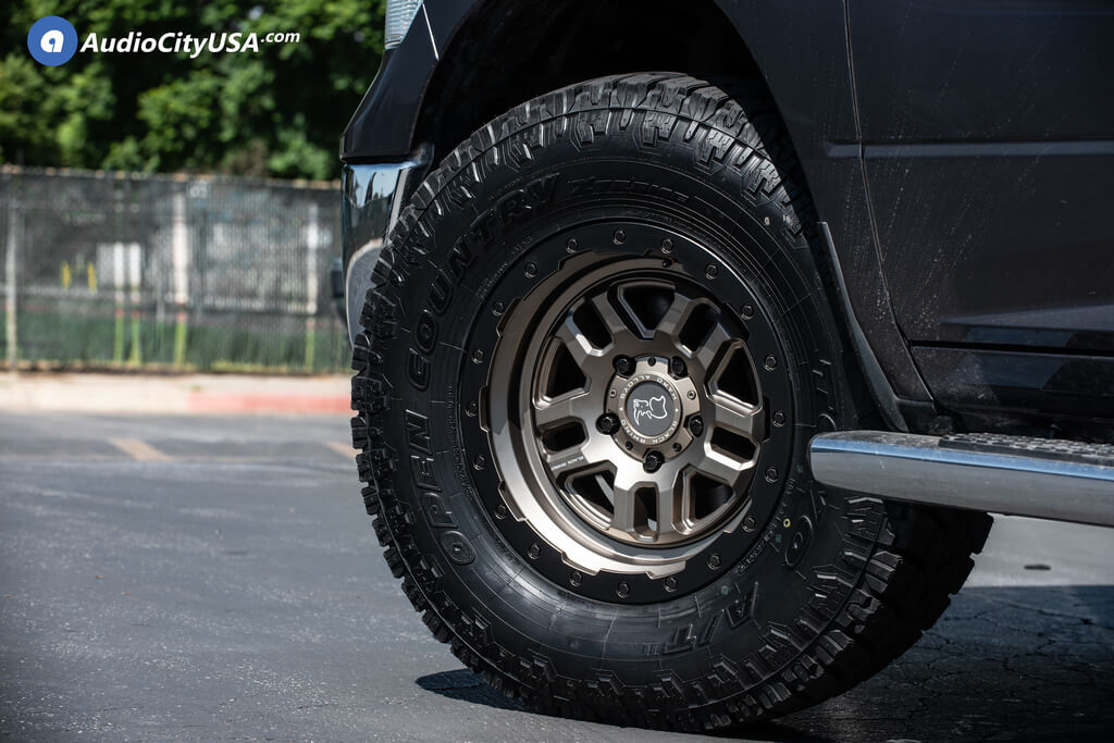 "17"" Black Rhino Wheels Barstow Matte Bronze with Matte ..."