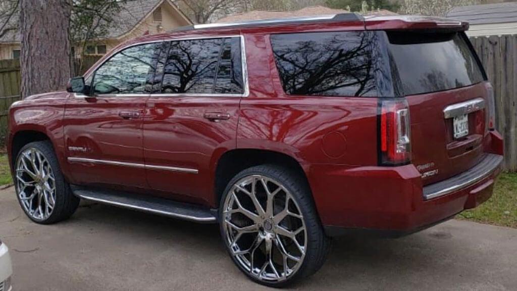 """Dodge Lift Kits >> 28"""" Borghini Wheels B28 Chrome Rims #BOR040-4"""