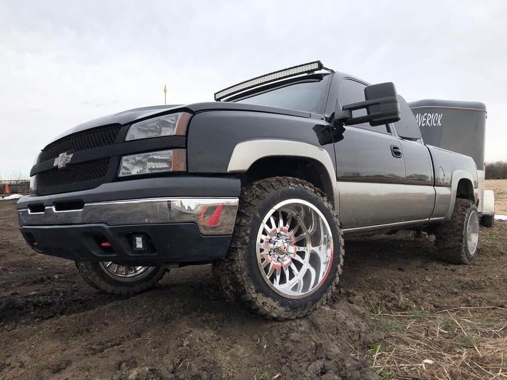 "Jeep Summit 2017 >> 22"" Cali Wheels 9110 Summit Polished Milled Off-Road Rims #CAL023-2"