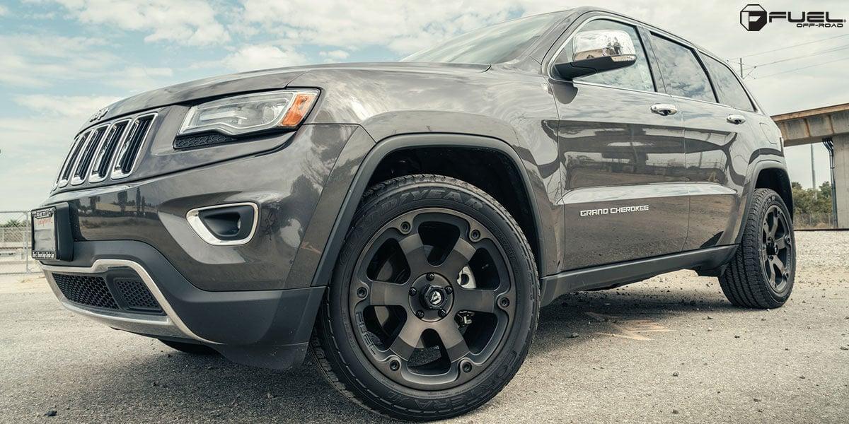 20 quot fuel wheels d564 beast black rims fl053 3