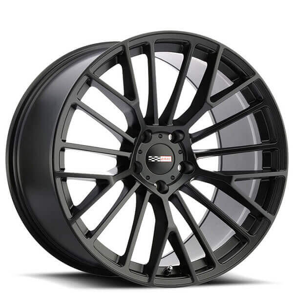 Cray Wheels Astoria Matte Black Rotary Forged Rims