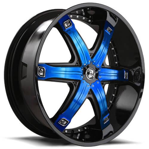 28 Quot Diablo Wheels Fury Custom Color Rims Db014 3