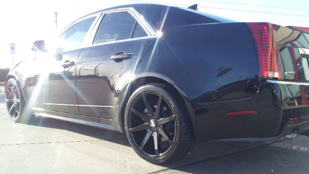 "20"" Dub Wheels Push S110 Gloss Black Rims"