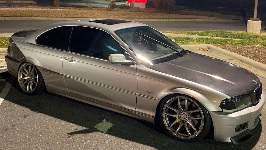 """18"""" ESR Wheels SR08 Hyper Black JDM Style Rims"""
