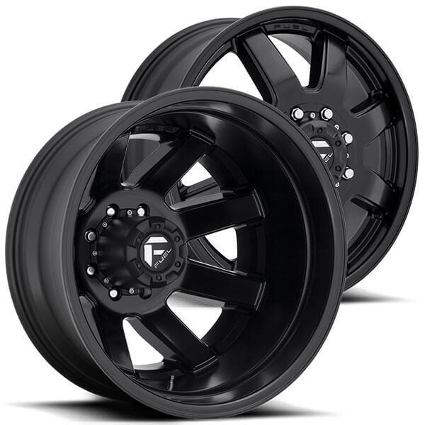 dually fuel rims maverick matte d436 wheels road check audiocityusa