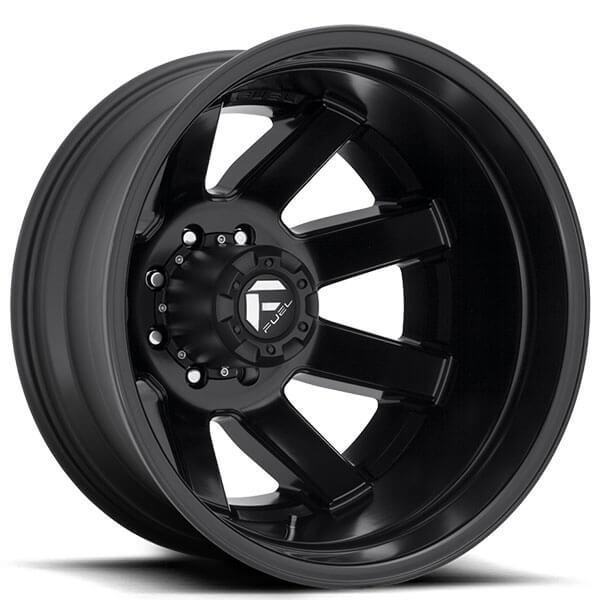 """Fuel Jeep Wheels >> 20"""" Fuel Wheels D436 Maverick Dually Matte Black Off-Road ..."""