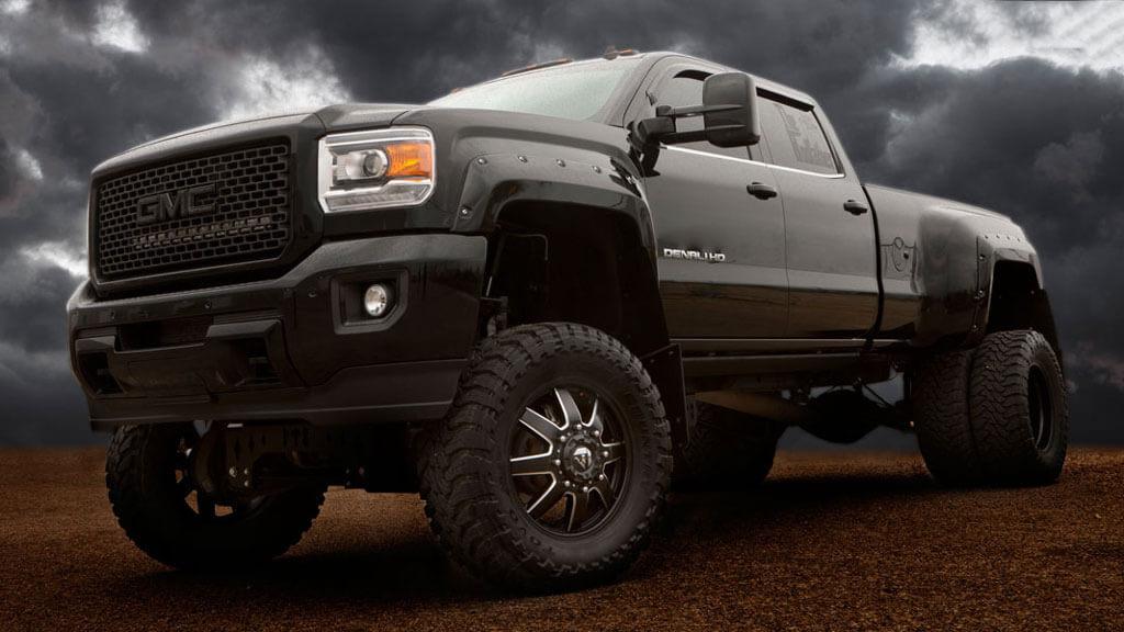 "24"" fuel wheels d538 maverick dually matte black milled"