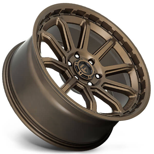 """Bmw Usa: 17"""" Fuel Wheels D690 Torque Matte Bronze Off-Road Rims"""