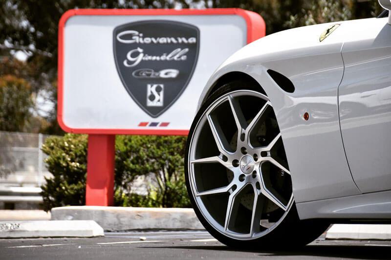 """26"""" Gianelle Wheels Dilijan Silver Machined Rims"""