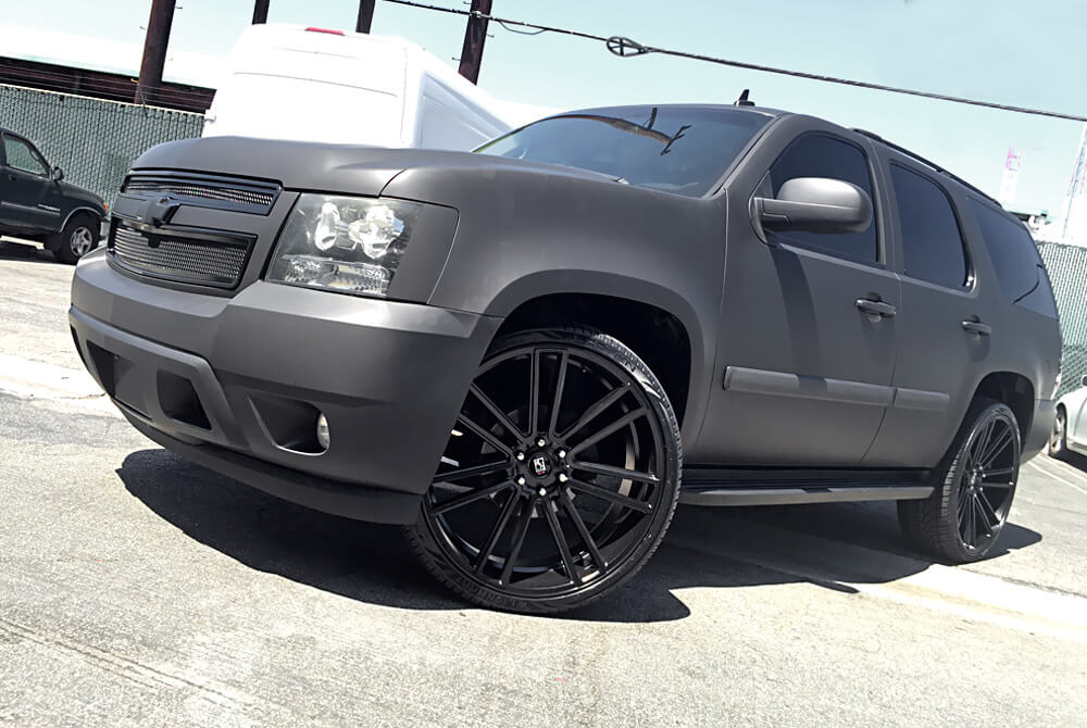 "2016 Ford F150 Accessories >> 26"" Giovanna-Koko kuture Wheels Massa-7 Black Rims #KK025-6"