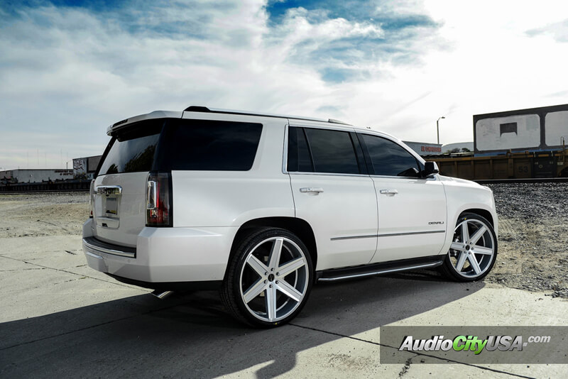 Chevrolet Tahoe  Specs of wheel sizes tires PCD Offset