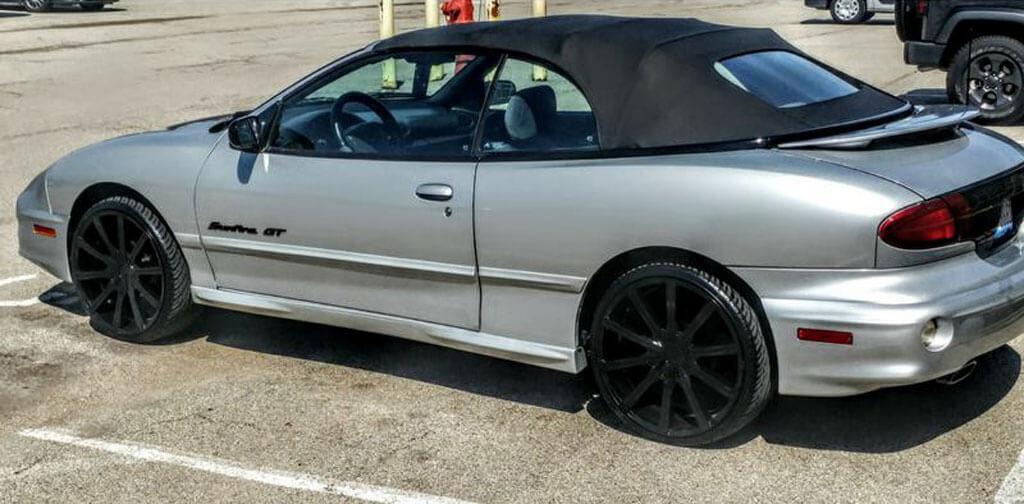 Kronik Wheels Epiq Gloss Black Rims Audiocityusa F Df on Alfa Romeo Spider 1988