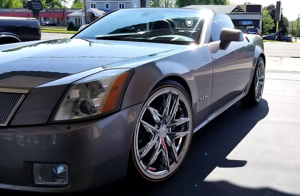 "20"" Lexani Wheels Venom Chrome Rims #LX118-1"