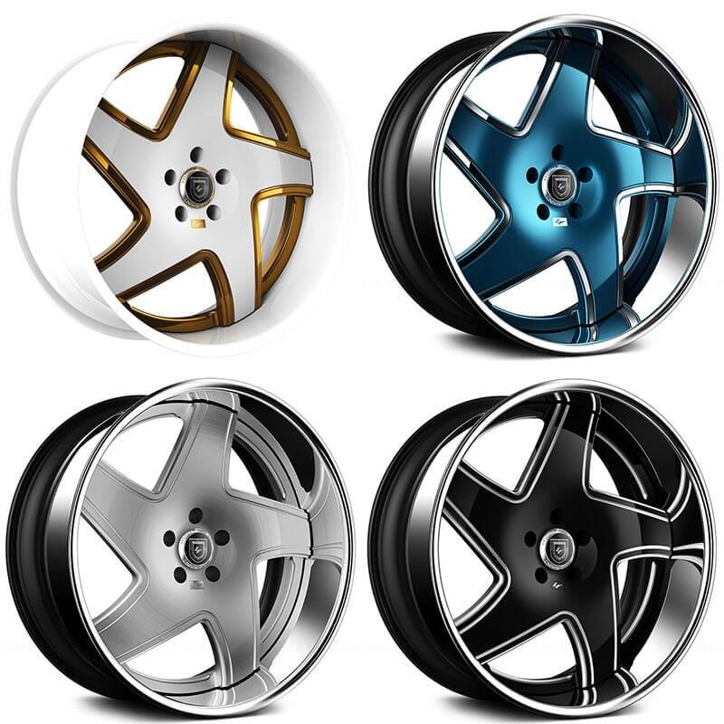 """Dodge Lift Kits >> 26"""" Lexani Forged Wheels LF-Luxury LF-768 Dawn Custom Finish Forged Rims #LXF009-10"""
