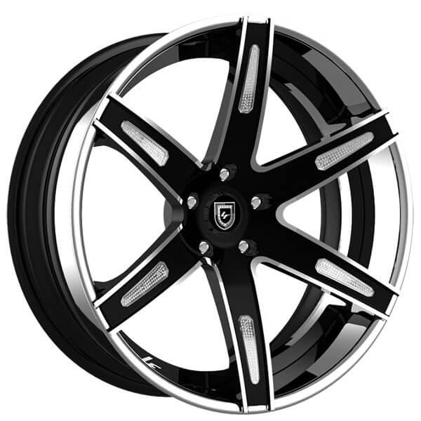 "19"" Lexani Forged Wheels LF-Luxury LZ-725 Aqua Custom Finish Forged Rims"