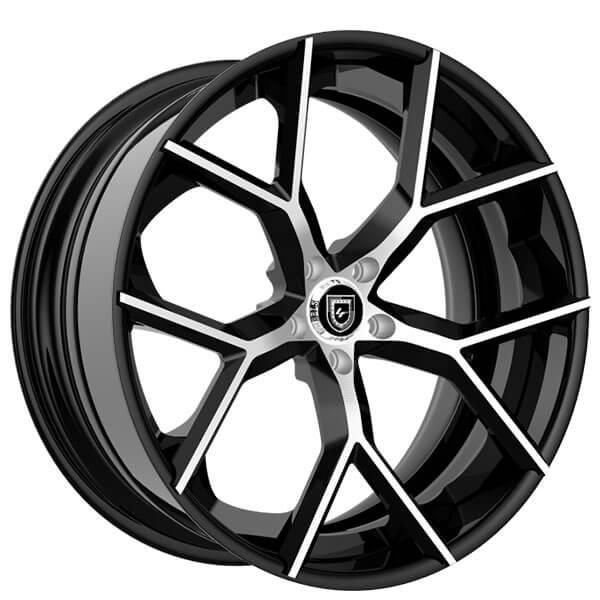 "21"" Staggered Lexani Forged Wheels LF-Luxury LZ-739 Macallan Custom Finish Forged Rims"