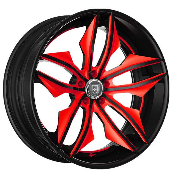 "20"" Lexani Forged Wheels LF-Luxury LZ-754 Fuse Custom Finish Forged Rims"