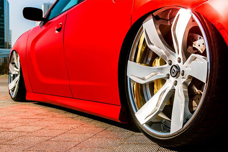"22"" Lexani Forged Wheels LF-Luxury LZ-765 Zagato Custom Finish Forged Rims"