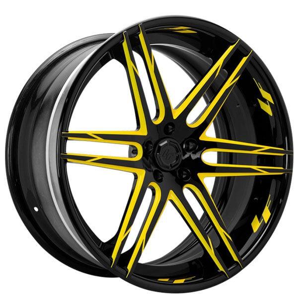 "22"" Lexani Forged Wheels LF-Sport LZ-106 Custom Finish Forged Rims"