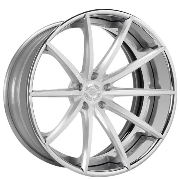 "19"" Staggered Lexani Forged Wheels LF-Sport LZ-108 Custom Finish Forged Rims"