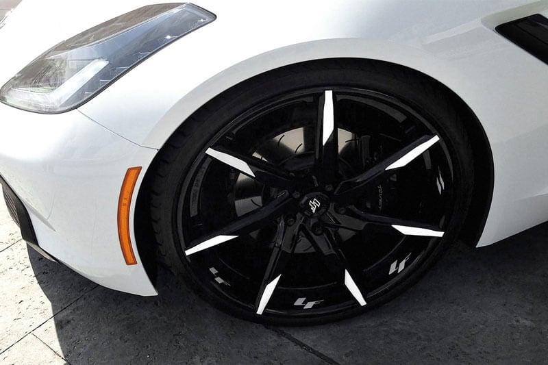 "21"" Staggered Lexani Forged Wheels LF-Sport LZ-109 Custom Finish Forged Rims"