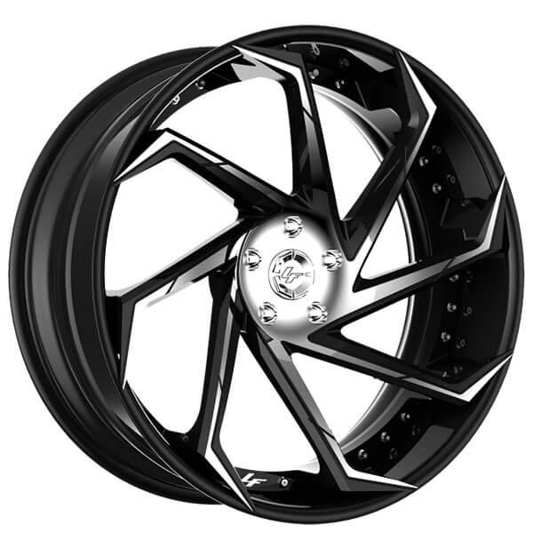 "20"" Lexani Forged Wheels LF-Sport LZ-117 Custom Finish Forged Rims"