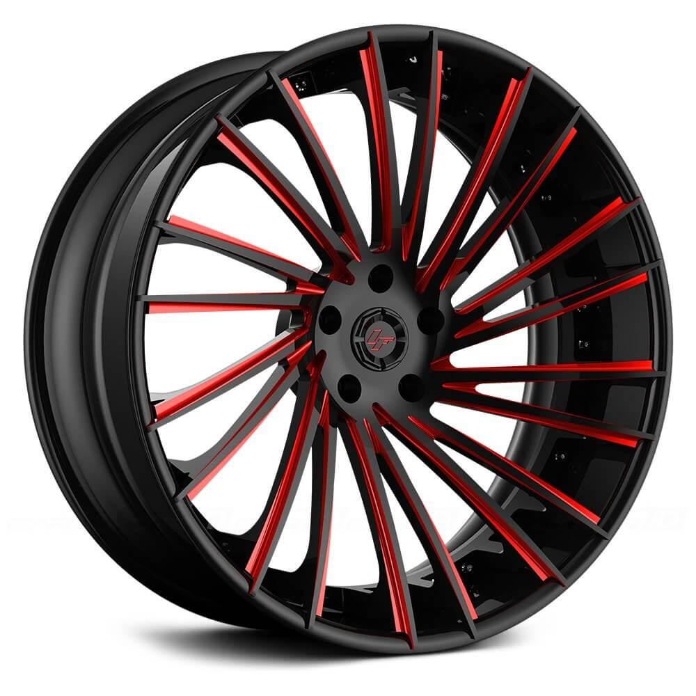 """Dodge Lift Kits >> 21"""" Staggered Lexani Forged Wheels LF-Sport LZ-119 Custom ..."""
