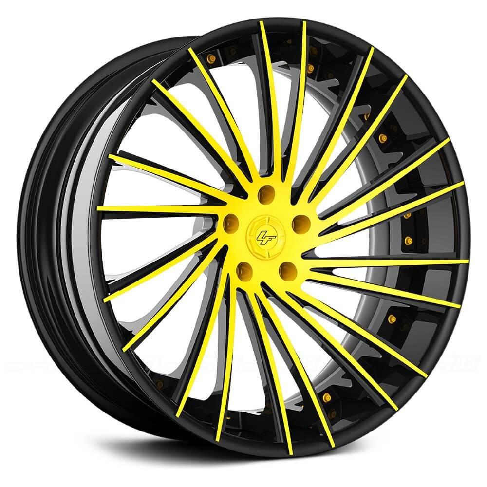 24 Quot Lexani Forged Wheels Lf Sport Lz 119 Custom Finish