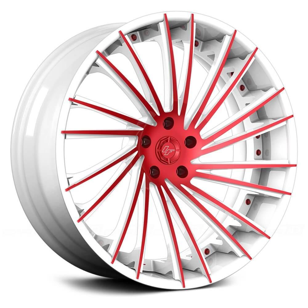 "24"" Lexani Forged Wheels LF-Sport LZ-119 Custom Finish Forged Rims"