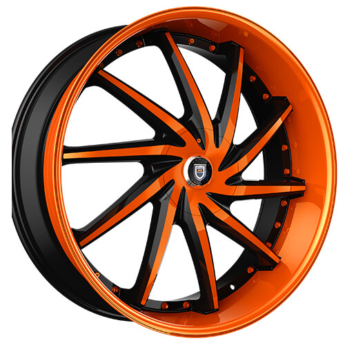 22 Quot Staggered Lexani Wheels Artemis Custom Color Rims Lx046 4