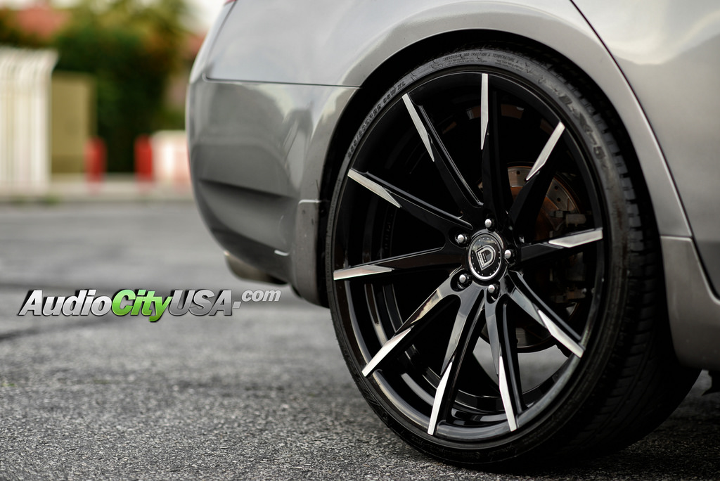 22 Quot Staggered Lexani Wheels Css 15 Black With Machined