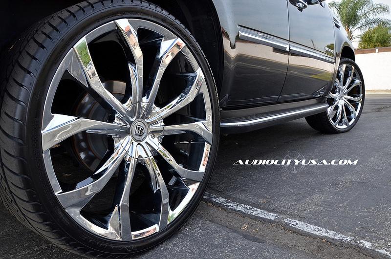 24 Quot Lexani Wheels Lust Chrome Rims Lx084 5