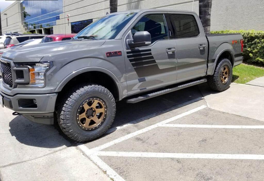 "18"" Method Wheels 310 Con 6 Bronze Off-Road Rims"