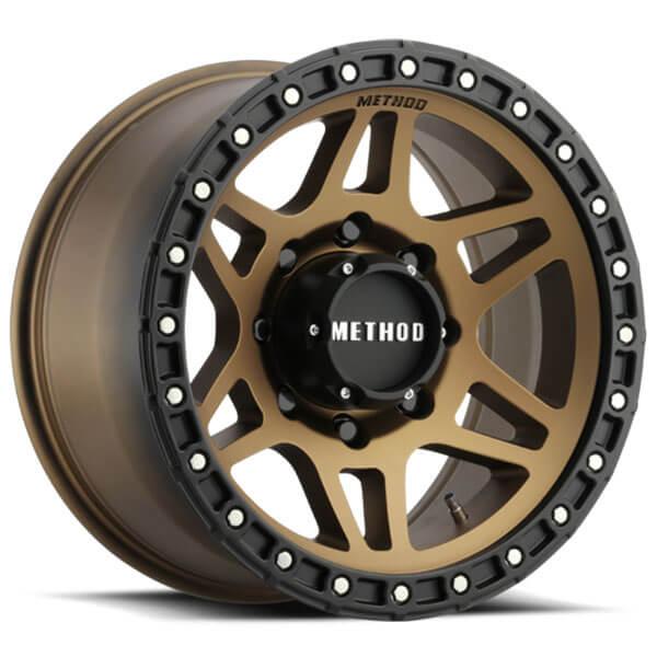 "18"" Method Wheels 312 Bronze Off-Road Rims"