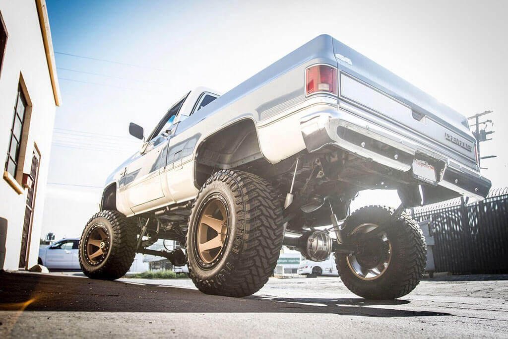 "2014 Silverado Lift Kit >> 20"" Method Wheels 610 Con 6 Bronze Off-Road Rims #MD011-1"