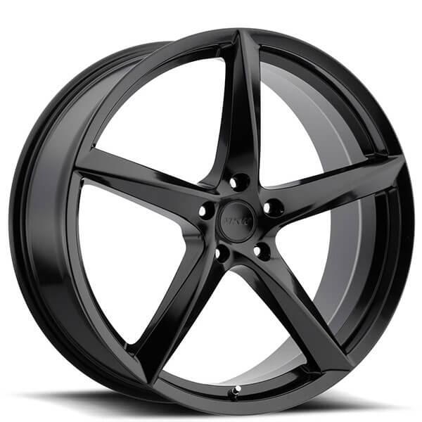 "22"" MKW Wheels M120 Black Rims"
