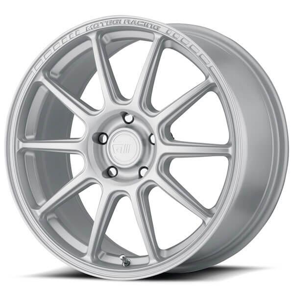"18"" Motegi Racing Wheels MR140 Hyper Silver Rims"