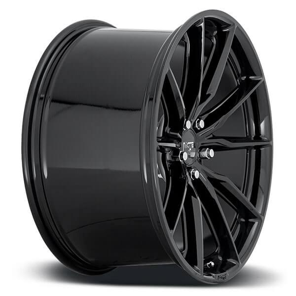 "Bmw: 20"" Niche Wheels M240 Rainier Gloss Black Rims #NC101-4"