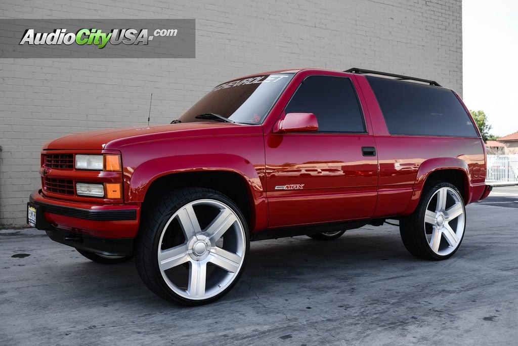26 quot chevy silverado suburban wheels texas edition silver machine oem replica rims oem004 4