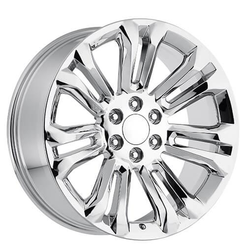 26 Quot 2015 Gmc Wheels Chrome Oem Replica Rims Oem062 3
