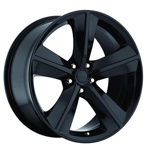 20 Quot Dodge Challenger Srt8 Wheels Gloss Black Oem Replica