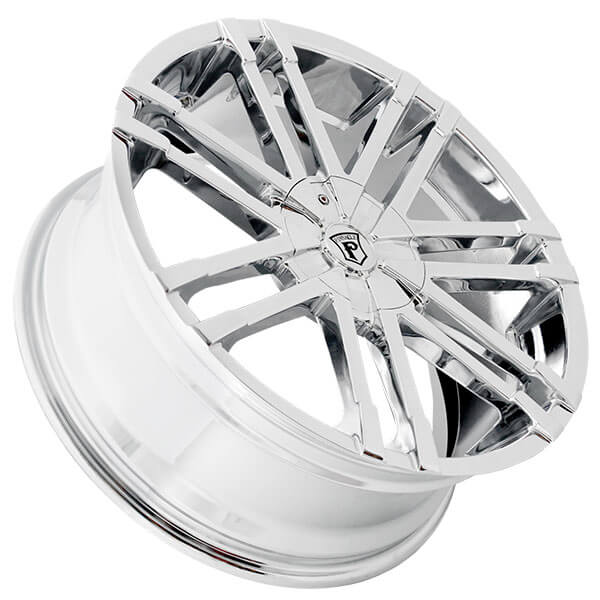 "20"" Pinnacle Wheels P88 Valenti Chrome Rims"