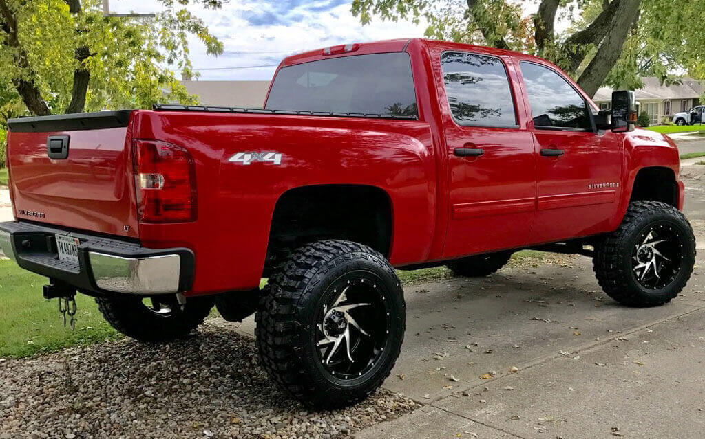 "18"" Red Dirt Road Wheels RD13 Vortex Black Machined Off ..."