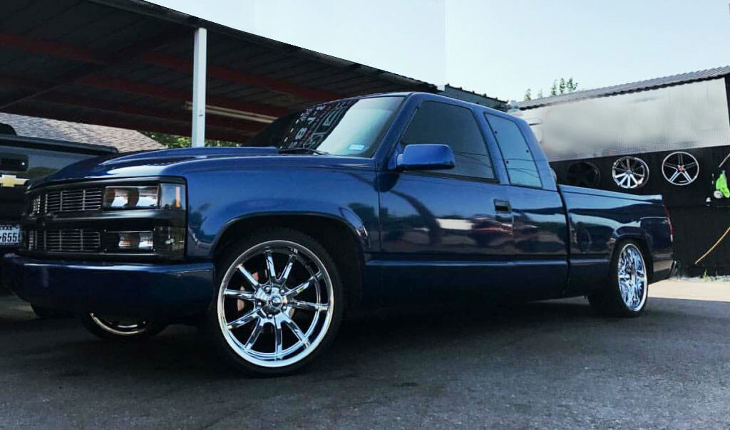 "18"" Ridler Wheels 650 Chrome Rims #RID005-4"
