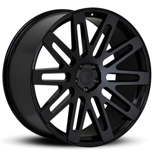 "24"" Road Force Wheels RF24 Gloss Black Rims"