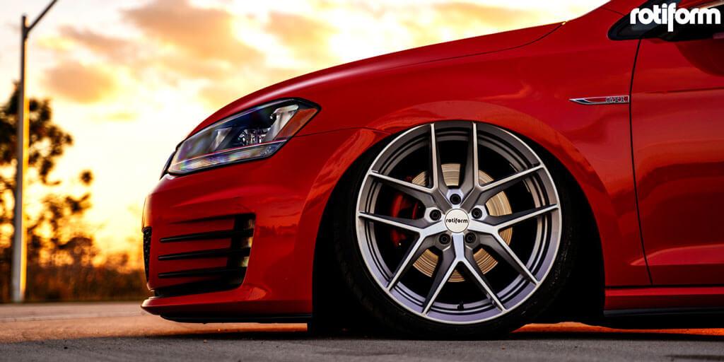 "Hyundai Customer Service >> 19"" Rotiform Wheels R133 FLG Silver Rims #RTF040-2"