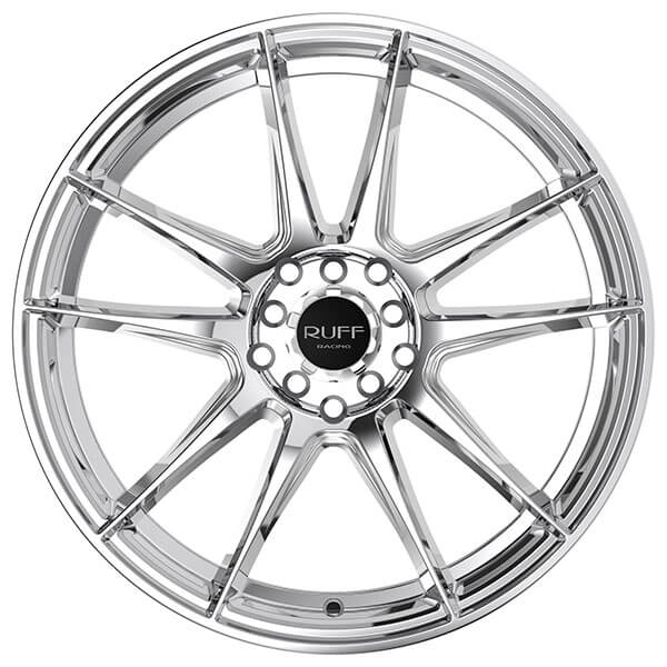 18 u0026quot  ruff wheels r364 chrome rims  ruf026
